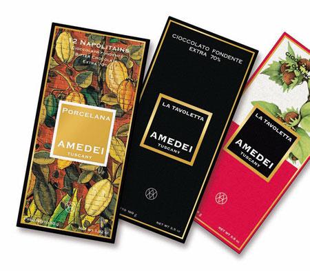 Die drei Gewinner des Gold Awards von Amedei