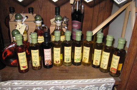 die verschiedenen Kräuteröle