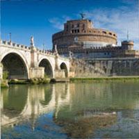 Latium Tiberbrücke