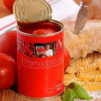 San Marzano Tomate aus der Dose