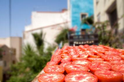 trocknende Tomaten