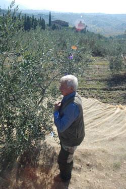 Gianni, einer der Erntehelfer.