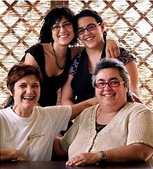 Die Damen vom Quattro Stagioni