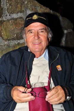 Roberto Feluga im Weinkeller