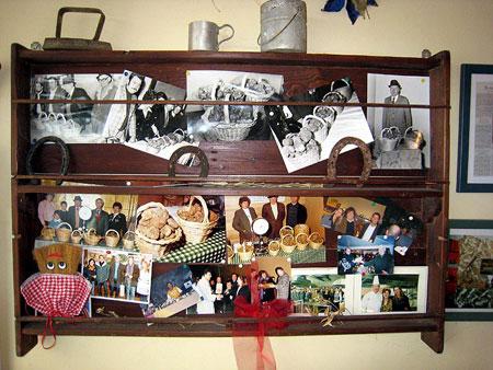 Erinnerungsstücke der Familie Nacci