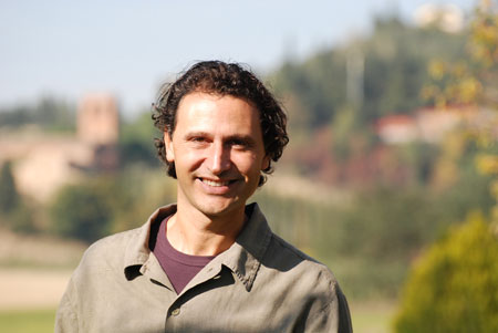Der trüffelsucher Riccardo Nacci