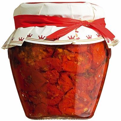 Halbgetrocknete Tomaten aus Apulien.