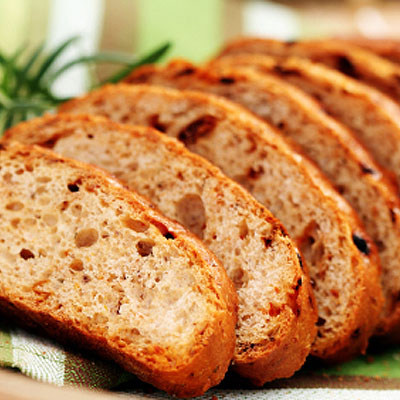 Ciabatta-Rezept mit Rosmarin, Oliven & Nüssen