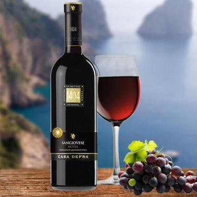 Der für Apulien typische Primitivo-Wein