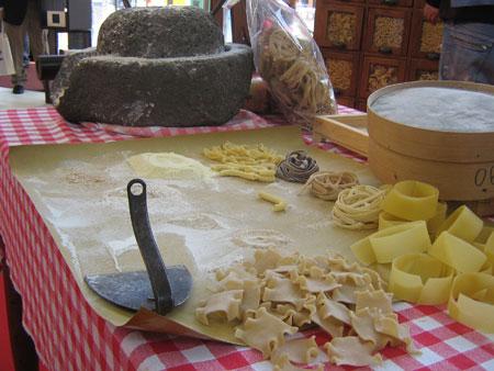 Pasta-Stilleben