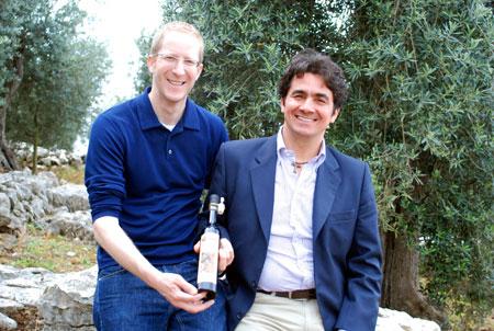 Alfredo Cetrone und Jens Depenau