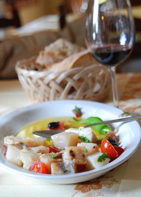 Stockfisch-Essen