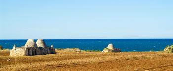 Trulli - die eigentümlichen Rundhäuser in Apulien