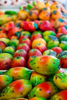 Marzipan-Papayas
