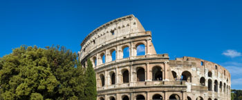 Das Colosseum-Zeuge der Geschichte