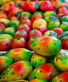 Bunte Marzipanfrüchte