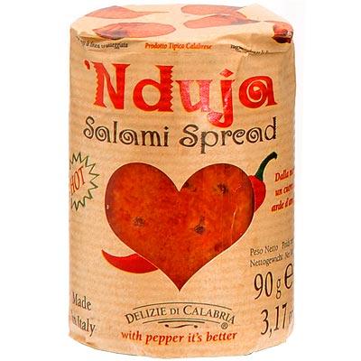 Nduja - die scharfe Salami aus Kalabrien