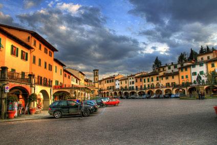 Der Marktplatz in Greve