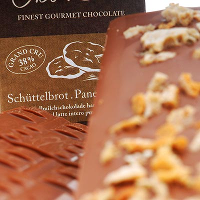 Schüttelbrot-Schokolade
