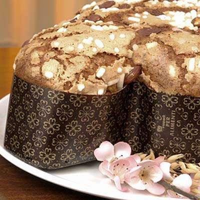 Colomba mit Schokoperlen