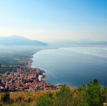 Die Küste vor Palermo