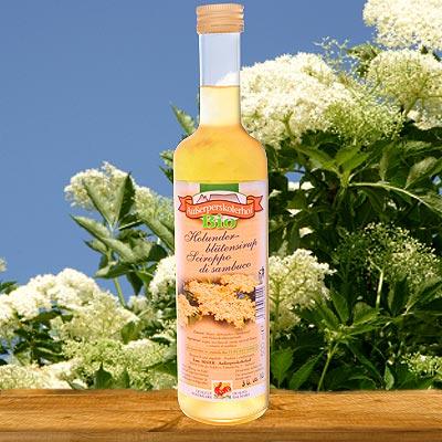 Holunderblütensirup in Bio-Qualität