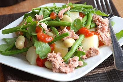 Ligurischer Bohnensalat