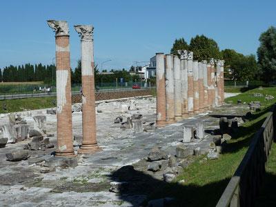 Ruinen in Aquileia