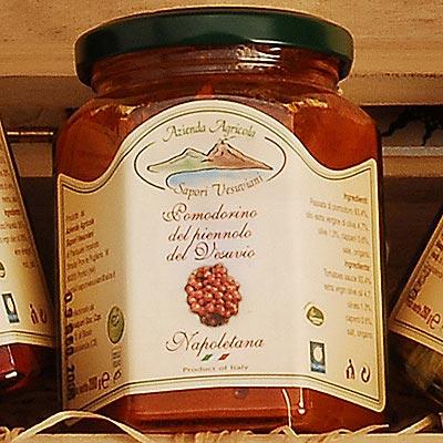 Die Sugo alla napoletana aus Piennolo-Tomaten