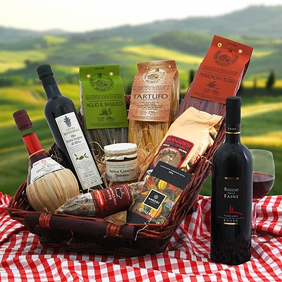 Der edle Toskana-Geschenkkorb