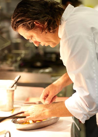 Giorgio bei der Arbeit (Bildrechte bei http://www.locandalocatelli.com)