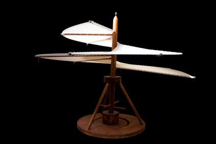 Ornihopter -  ein Modell nach einer Zeichnung von Leonardo