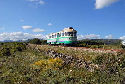Der Trenino Verde in der Provinz Ogliastra