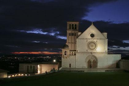 Assisi - Heimat des Heiligen Franziskus