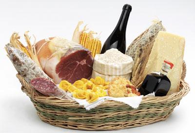 Italienische Lebensmittel