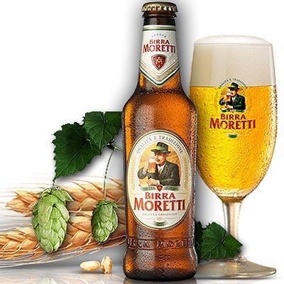 Birra Moretti aus Udine