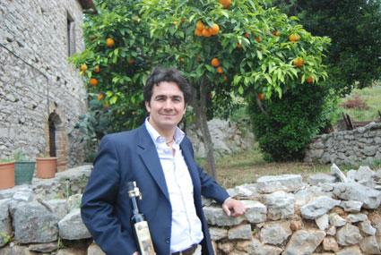 Alfredo Cetrone vor seinem Wohnhaus