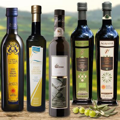 Fünf der 12 besten Olivenöle der Welt!