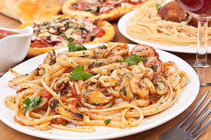 Pasta mit Venusmuscheln