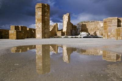 Ruinen von Salaparuta, südlich vom alten Gibellina