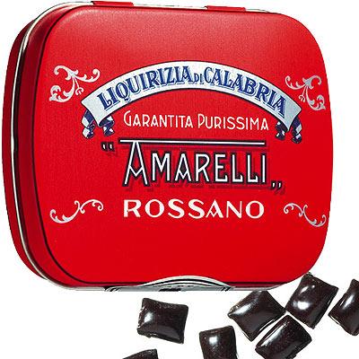 Lakritzpastillen von Amarelli