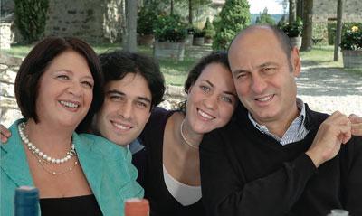 die Familie um Sergio Zingarelli