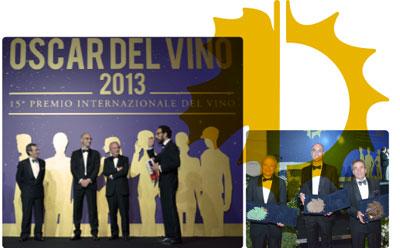 Preisverleihung Oscar del Vino 2013