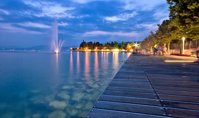 Uferpromenade in Bardolino