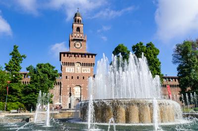Sehenswürdigkeiten in der Lombardei Castello Sforzato