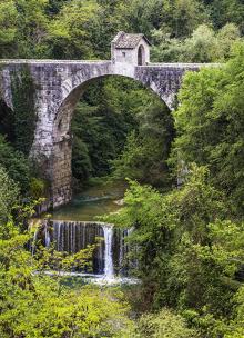 Sehenswürdigkeiten in den Marken - Ponte di Cecco Ascoli