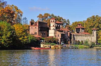 Sehenswürdigkeiten im Piemont: Burg in Turin
