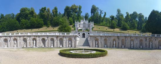 Sehenswürdigkeiten im Piemont: Villa della Regina
