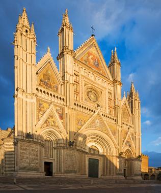 Sehenswürdigkeiten in Umbrien Dom Orvieto