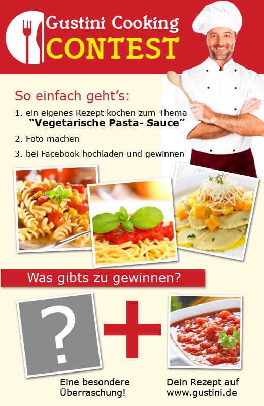 Kochwettbewerb Vegetarische Pastasauce